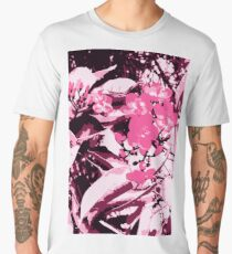 Cherry Blossom in Bloom Men's Premium T-Shirt