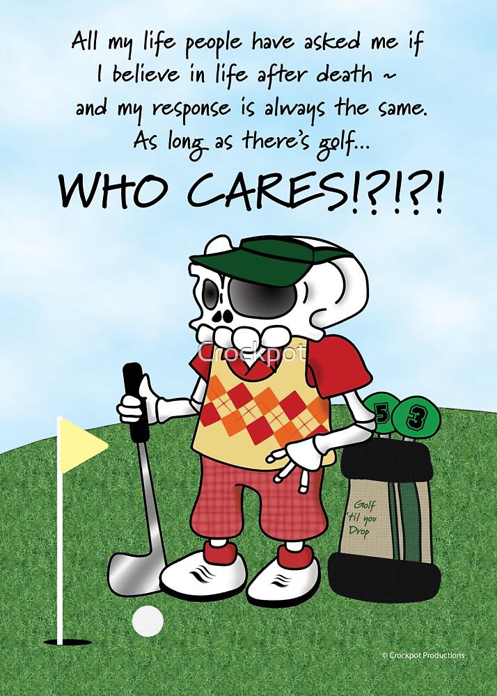 Golf Skellie by Crockpot