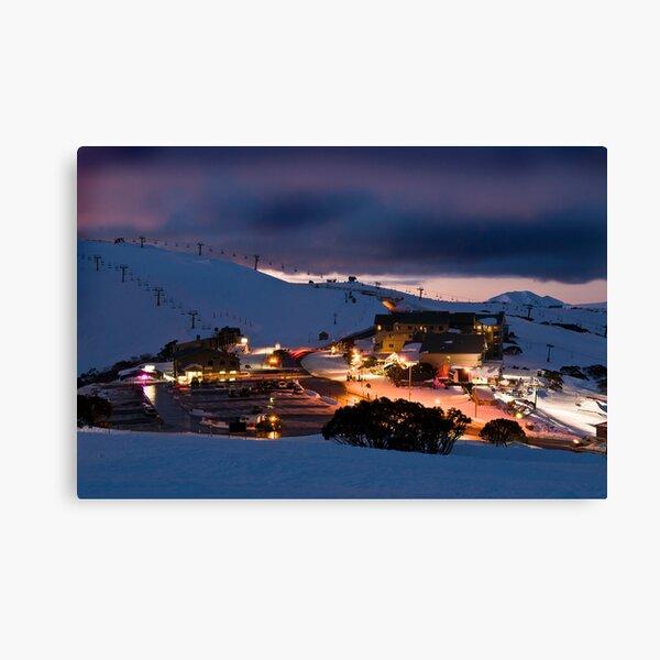Mt Hotham Canvas Print