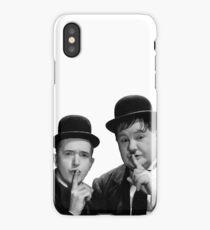 Laurel & Hardy -  Stanlio e Ollio iPhone Case/Skin