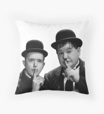 Laurel & Hardy -  Stanlio e Ollio Throw Pillow