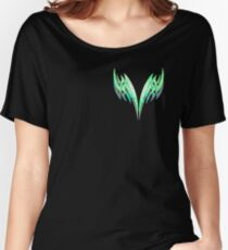Geometric twin swords design Women's Relaxed Fit T-Shirt