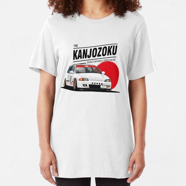 Honda Civic EG KANJO Slim Fit T-Shirt
