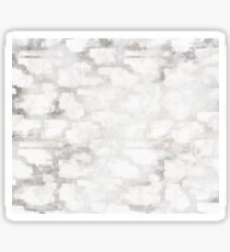 Silver abstract dream Sticker