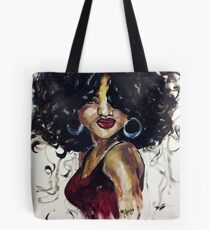 Afro Beauty Tote Bag
