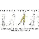 Notes on Tendu by balleteducation
