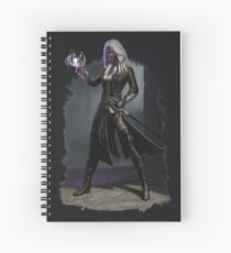 Drow Warlock Spiral Notebook
