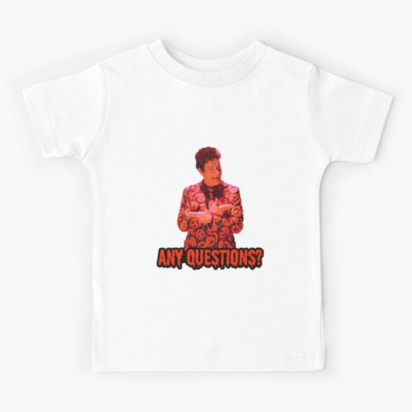 David S. Pumpkins - Any Questions? II - Black Kids T-Shirt