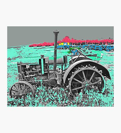 Retired From Active Duty Photographic Print