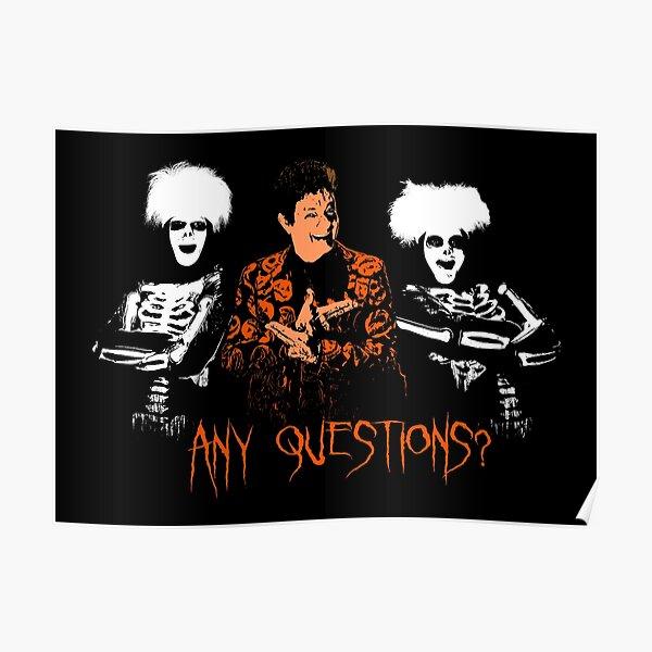 David S. Pumpkins - Any Questions? VIII Poster
