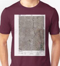 USGS TOPO Map Idaho ID Grassy Hills 20110107 TM T-Shirt