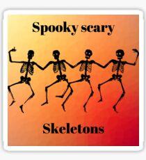 skeletons! Sticker