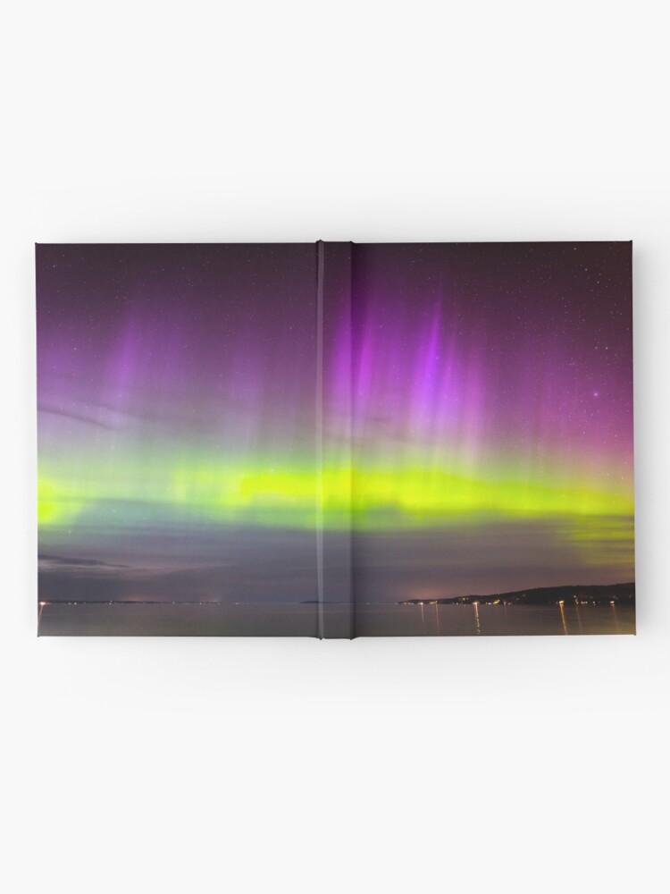 Alternative Ansicht von Nordlicht Notizbuch