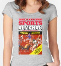 Sports Almanac 1950 - 2000 Women's Fitted Scoop T-Shirt