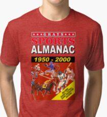 Sports Almanac 1950 - 2000 Tri-blend T-Shirt
