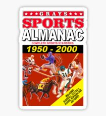 Sports Almanac 1950 - 2000 Sticker