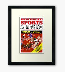 Sports Almanac 1950 - 2000 Framed Print