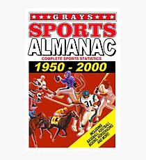 Sports Almanac 1950 - 2000 Photographic Print