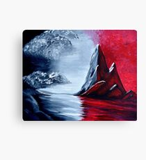 Red Oblivion Canvas Print