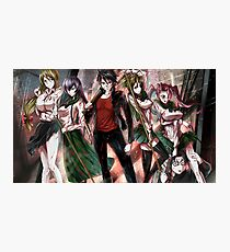Highschool of the Dead Photographic Print