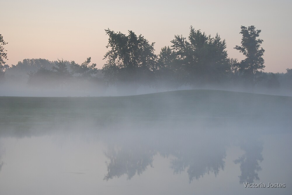 Foggy Reflection by Victoria Jostes