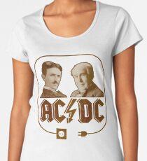 AC & DC - The Electric Men of Power Women's Premium T-Shirt