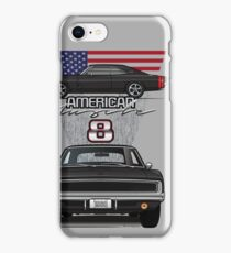 68 Black Charger iPhone Case/Skin