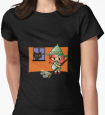 Celya and Lela kitten cleaning Halloween Magic Collection) T-Shirt