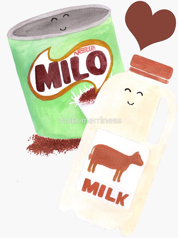 Beste Freunde: Milo & Milch von makemerriness