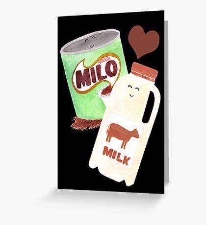 Best Friends: Milo & Milk Greeting Card