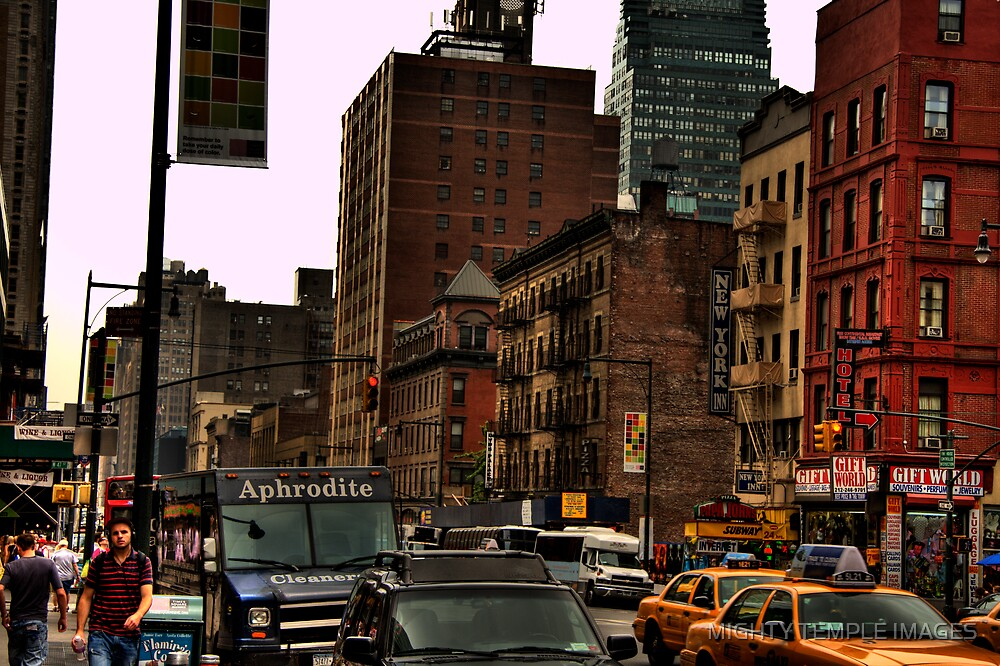 NY Streets by MIGHTY TEMPLE IMAGES