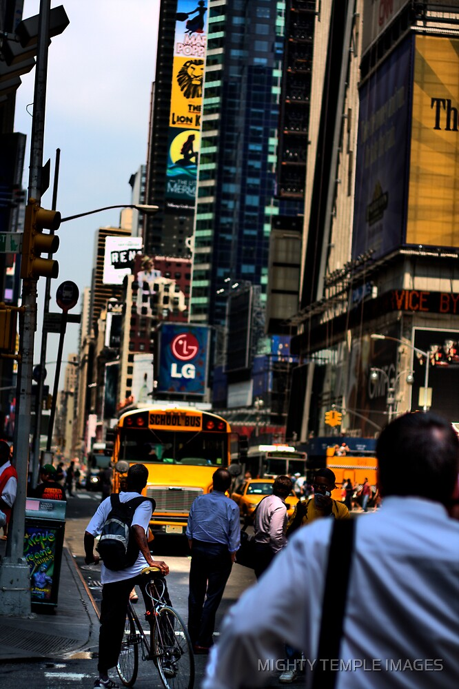 NY streets II by MIGHTY TEMPLE IMAGES