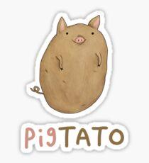 Pigtato Sticker