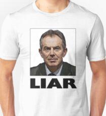 Tony Blair Liar Slogan T-Shirt