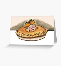 Child Pie Greeting Card