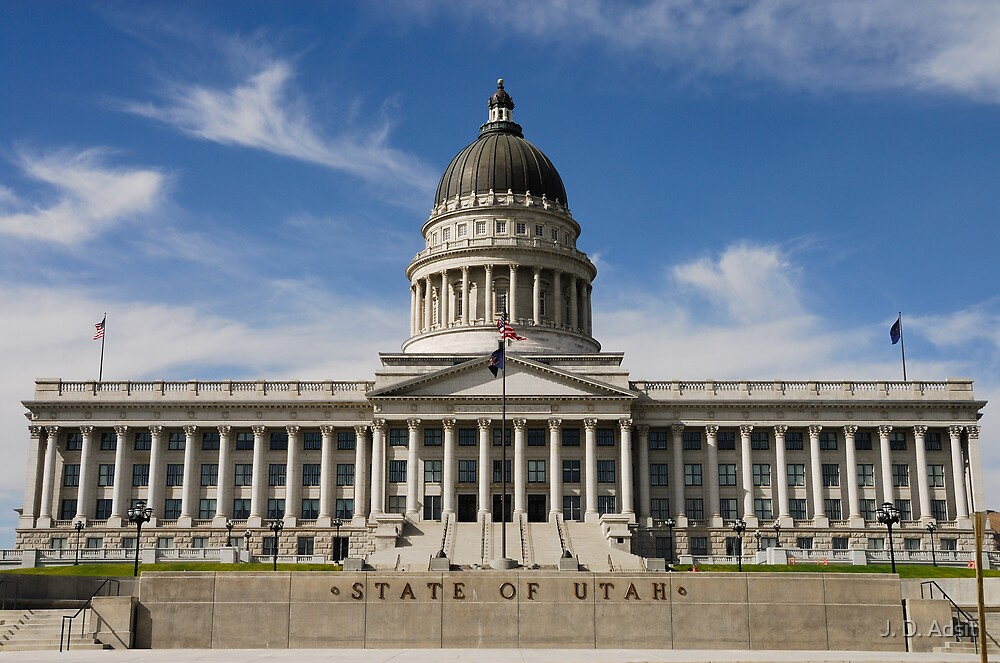 State of the Union (Utah Capitol Building) by J. D. Adsit