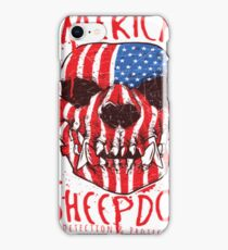 American Sheepdog T-Shirt iPhone Case/Skin