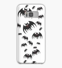 Crazy, cutesy bats Samsung Galaxy Case/Skin