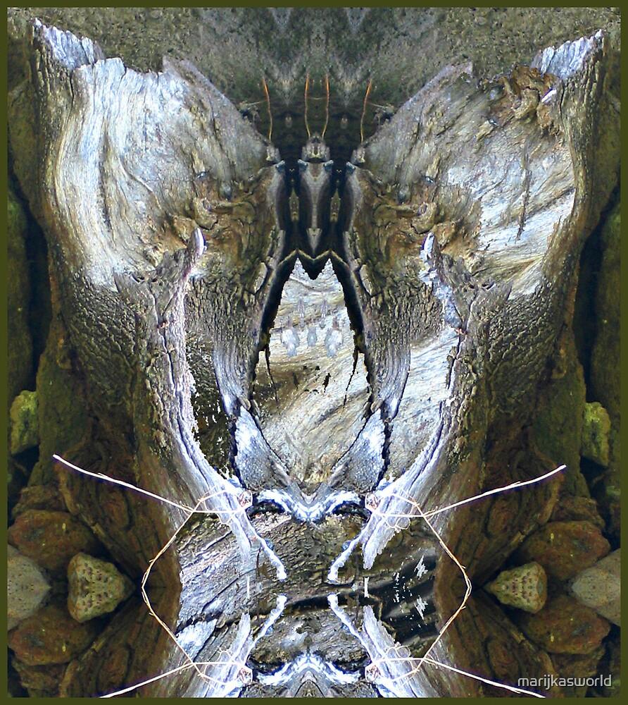 Tree Spirit 11 abc by marijkasworld