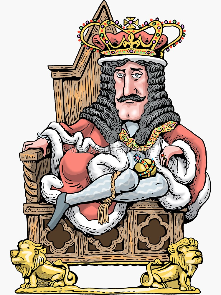 King Charles II by MacKaycartoons