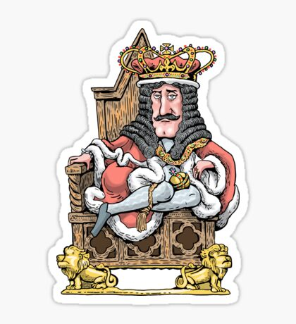 King Charles II Sticker