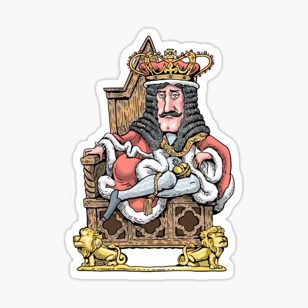 King Charles II Sticker