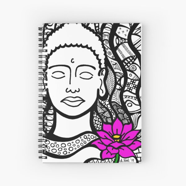 Peace in Mind Spiral Notebook
