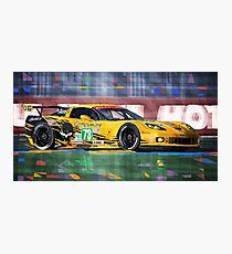 Chevrolet Corvette C6R GTE Pro Le Mans 24 2012 Photographic Print