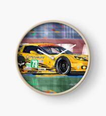 Chevrolet Corvette C6R GTE Pro Le Mans 24 2012 Clock