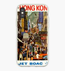 Vintage poster - Hong Kong iPhone Case