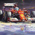Ferrari F1 History paintings by Yuriy Shevchuk by Yuriy Shevchuk