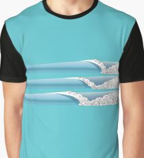 Fancy Set Waves Graphic T-Shirt