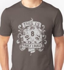This Is How I Roll Hand Drawn White T-Shirt