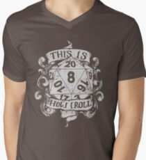 This Is How I Roll Hand Drawn White Men's V-Neck T-Shirt